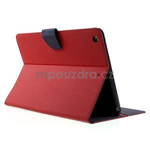 Diary peněženkové pouzdro na iPad Air - červené - 4