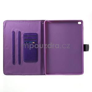 Daffi elegantní pouzdro na iPad Air 2 - fialové - 4
