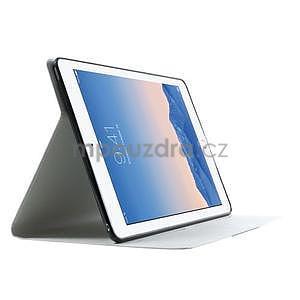 Elegant polohovatelné pouzdro na iPad Air 2 - bílé - 4