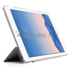 Trifold polohovatelné pouzdro na iPad Air 2 - šedé - 4