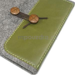 Envelope univerzální pouzdro na tablet 26.7 x 20 cm - zelené - 4