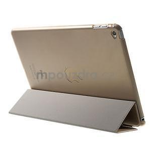 Trifold polohovatelné pouzdro na iPad Air 2 - champagne - 4