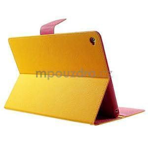 Excelent Diary pouzdro pro iPad Air 2 - oranžové - 4