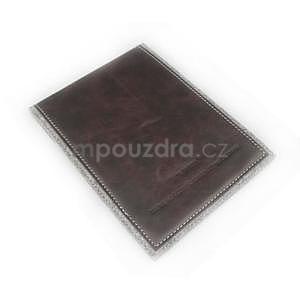 Envelope univerzální pouzdro na tablet 26.7 x 20 cm - coffee - 4