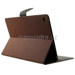 Excelent Diary pouzdro pro iPad Air 2 - hnědé - 4