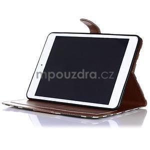 Fashion style pouzdro na iPad Air 2 - hnědé - 4