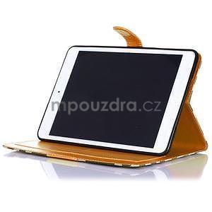 Fashion style pouzdro na iPad Air 2 - světlehnědé - 4
