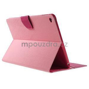 Excelent Diary pouzdro pro iPad Air 2 - růžové - 4