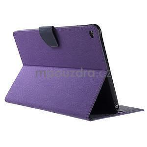 Excelent Diary pouzdro pro iPad Air 2 - fialové - 4