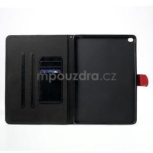 Daffi elegantní pouzdro na iPad Air 2 - černé - 4