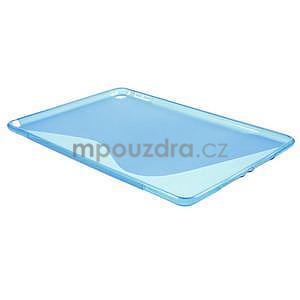 S-line gelový obal na iPad Air 2 - modrý - 4