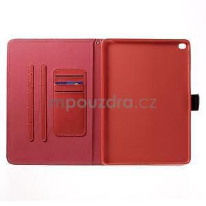 Daffi elegantní pouzdro na iPad Air 2 - červené - 4