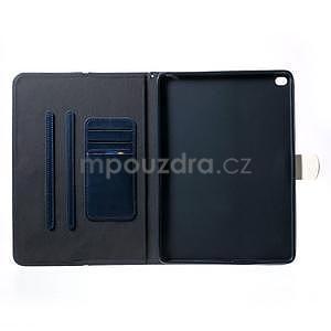 Daffi elegantní pouzdro na iPad Air 2 - tmavěmodré - 4