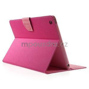 Diary peněženkové pouzdro na iPad Air - rose - 4