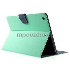 Diary peněženkové pouzdro na iPad Air - azurové - 4