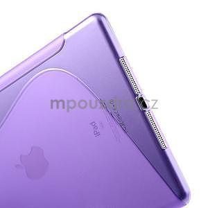 S-line gelový ochranný obal na iPad Air - fialový - 4