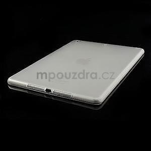 Gelový ochranný obal na iPad Air - transparentní - 4