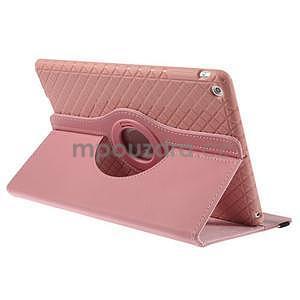 Circ otočné pouzdro na Apple iPad Air - růžové - 4
