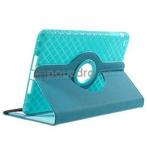 Circu otočné pouzdro na Apple iPad Mini 3, iPad Mini 2 a ipad Mini - modré - 4