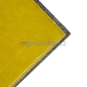 Envelope univerzální pouzdro na tablet 22 x 16 cm - žluté - 4