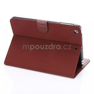 Cloth luxusní pouzdro na Ipad Mini 3, Ipad Mini 2 a Ipad Mini - červené - 4