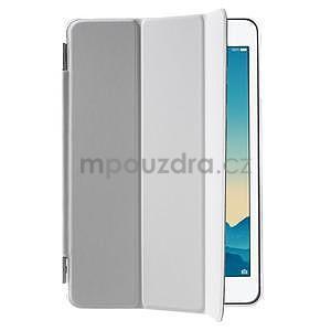 Classic tří polohové pouzdro na iPad Mini 3, ipad Mini 2 a na iPad Mini - bílé - 4