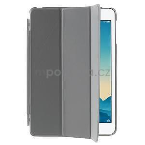 Classic tří polohové pouzdro na iPad Mini 3, ipad Mini 2 a na iPad Mini - šedé - 4