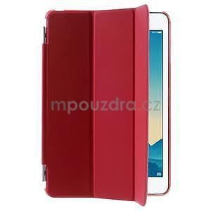 Classic tří polohové pouzdro na iPad Mini 3, ipad Mini 2 a na iPad Mini - červené - 4