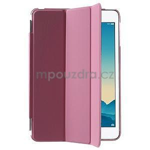 Classic tří polohové pouzdro na iPad Mini 3, ipad Mini 2 a na iPad Mini - růžové - 4