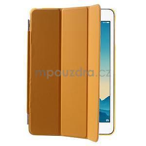 Classic tří polohové pouzdro na iPad Mini 3, ipad Mini 2 a na iPad Mini - oranžová - 4