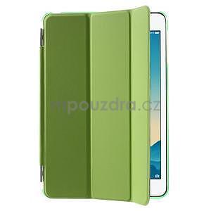 Classic tří polohové pouzdro na iPad Mini 3, ipad Mini 2 a na iPad Mini - zelené - 4