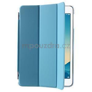 Classic tří polohové pouzdro na iPad Mini 3, ipad Mini 2 a na iPad Mini - modré - 4