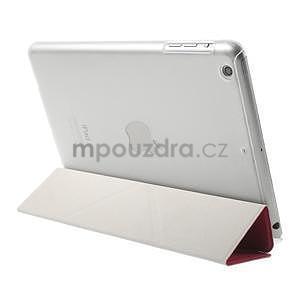 Origami ochranné pouzdro iPad Mini 3, iPad Mini 2, iPad mini - rose - 4