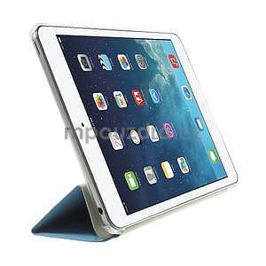 Origami ochranné pouzdro iPad Mini 3, iPad Mini 2, iPad mini - světlémodré - 4