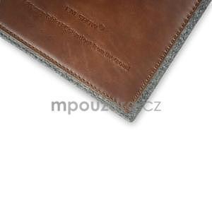 Envelope univerzální pouzdro na tablet 22 x 16 cm - hnědé - 4