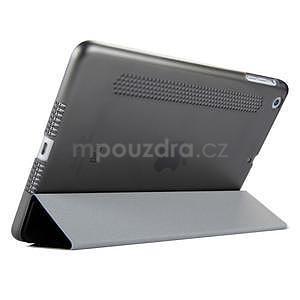 Lines polohovatelné pouzdro na iPad Mini 3 / iPad Mini 2 / iPad mini - černé - 4