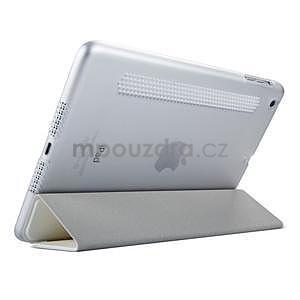 Lines polohovatelné pouzdro na iPad Mini 3 / iPad Mini 2 / iPad mini - bílé - 4
