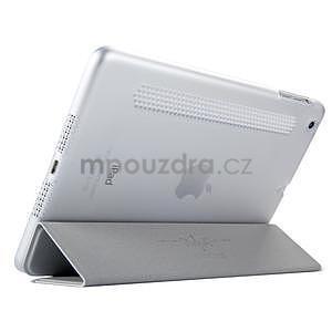 Lines polohovatelné pouzdro na iPad Mini 3 / iPad Mini 2 / iPad mini - šedé - 4