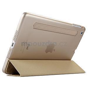Lines polohovatelné pouzdro na iPad Mini 3 / iPad Mini 2 / iPad mini - zlaté - 4