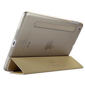 Lines polohovatelné pouzdro na iPad Mini 3 / iPad Mini 2 / iPad mini - champagne - 4