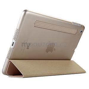 Lines polohovatelné pouzdro na iPad Mini 3 / iPad Mini 2 / iPad mini - rose gold - 4