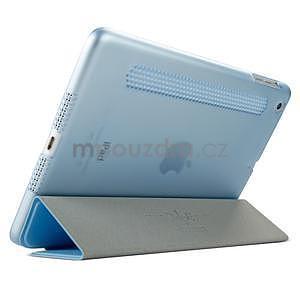 Lines polohovatelné pouzdro na iPad Mini 3 / iPad Mini 2 / iPad mini - modré - 4