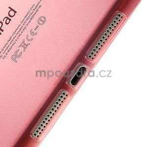 Ultra tenký slim obal na iPad Mini 3, iPad Mini 2, iPad Mini - červený - 4