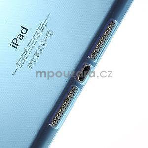 Ultra tenký slim obal na iPad Mini 3, iPad Mini 2, iPad Mini - modrý - 4