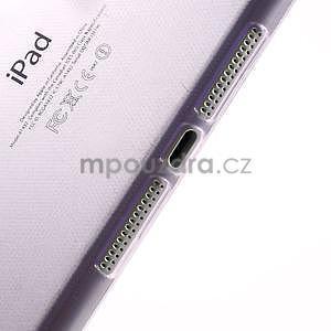 Ultra tenký slim obal na iPad Mini 3, iPad Mini 2, iPad Mini - fialový - 4