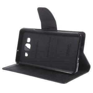 Mr. Fancy koženkové pouzdro na Samsung Galaxy A5 - černé - 4