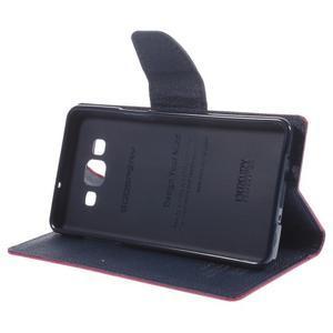 Mr. Fancy koženkové pouzdro na Samsung Galaxy A5 - rose - 4