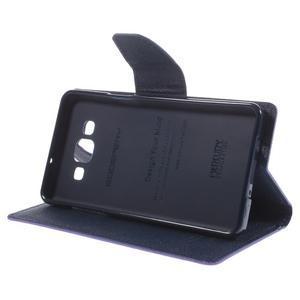 Mr. Fancy koženkové pouzdro na Samsung Galaxy A5 - fialové - 4