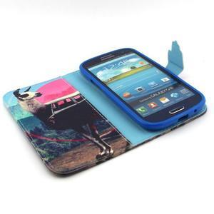 Peněženkové pouzdro na mobil Samsung Galaxy S3 - lama - 4