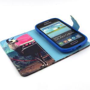 Fun peněženko pouzdro na Samsung Galaxy S3 mini - lama - 4